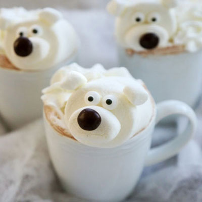 Polar bear hot chocholate