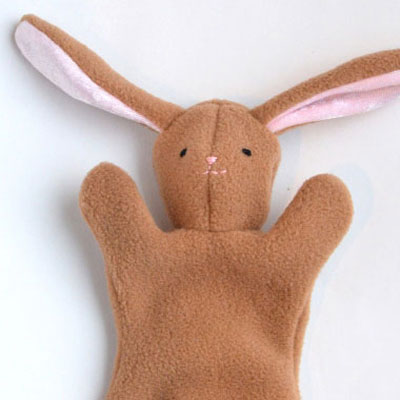 DIY easter bunny softie (with sewing pattern)
