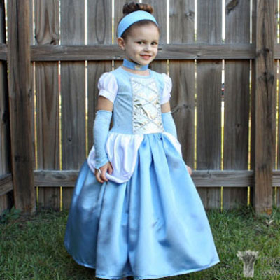 DIY Cinderella costume / princess costume
